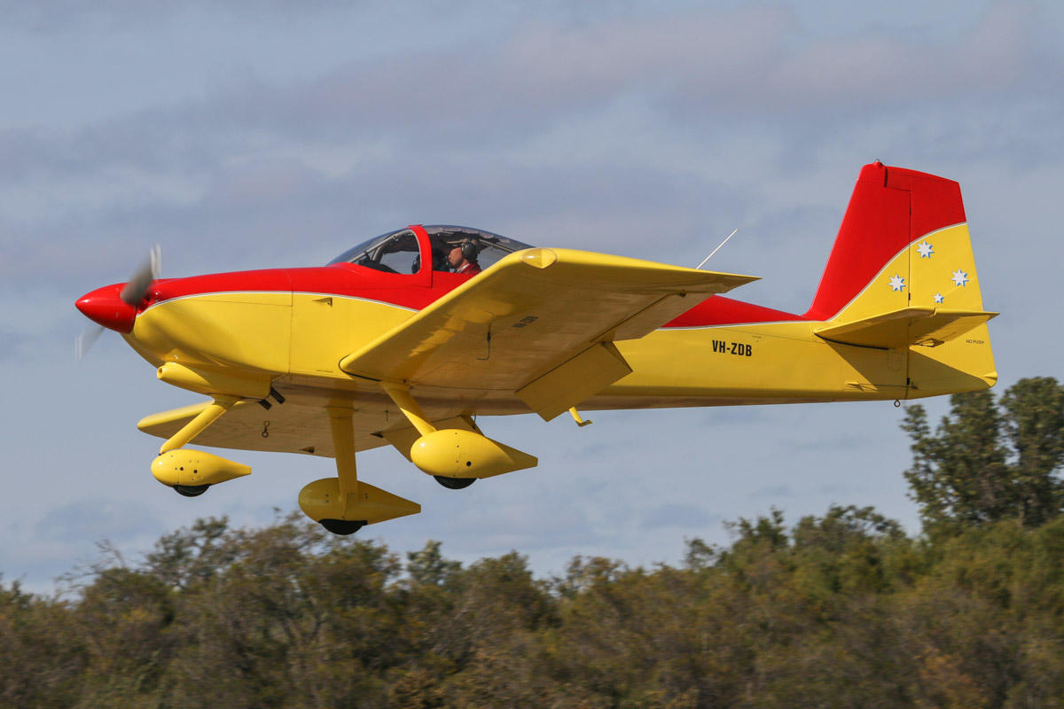 VH-ZDB Vans RV-7A (MSN 70471) owned by David Watkins, of Toodyay, WA, at SABC Annual Fly-In, Serpentine Airfield - Sun 27 September 2015. Photo © David Eyre