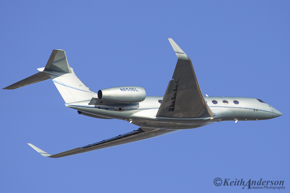 N650GL Gulfstream Aerospace G650 (MSN 6054) at Perth Airport - 13 April 2016.