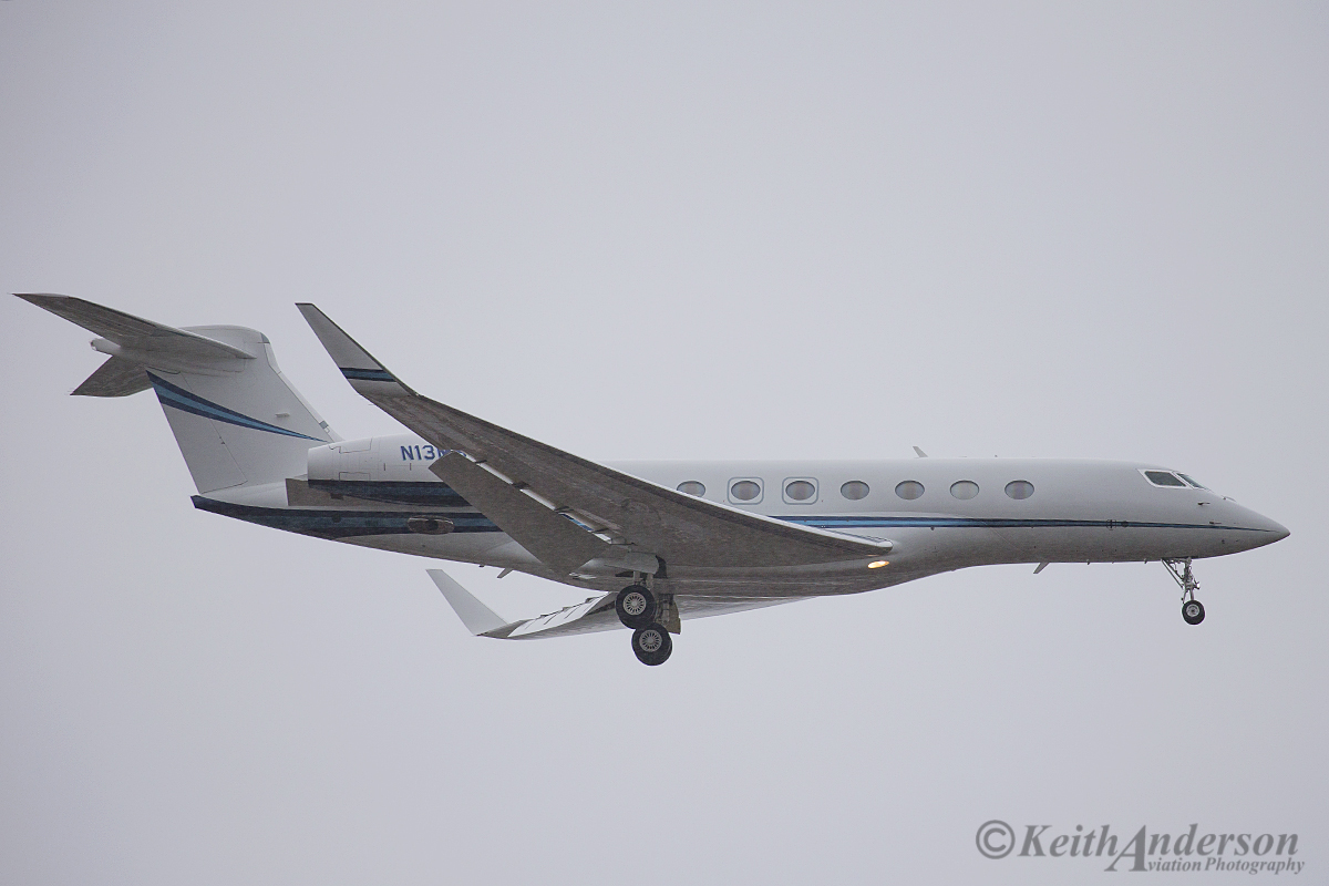 N13MS Gulfstream G-650 (MSN 6036) of Air Kaitar at Perth Airport – 11 April 2016.
