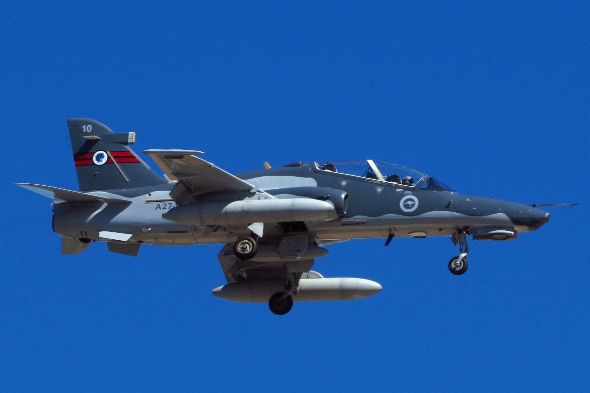A27-10 BAE Systems Hawk 127 (MSN DT10) of 79 Squadron, RAAF at Broome Airport – 10 August 2016.