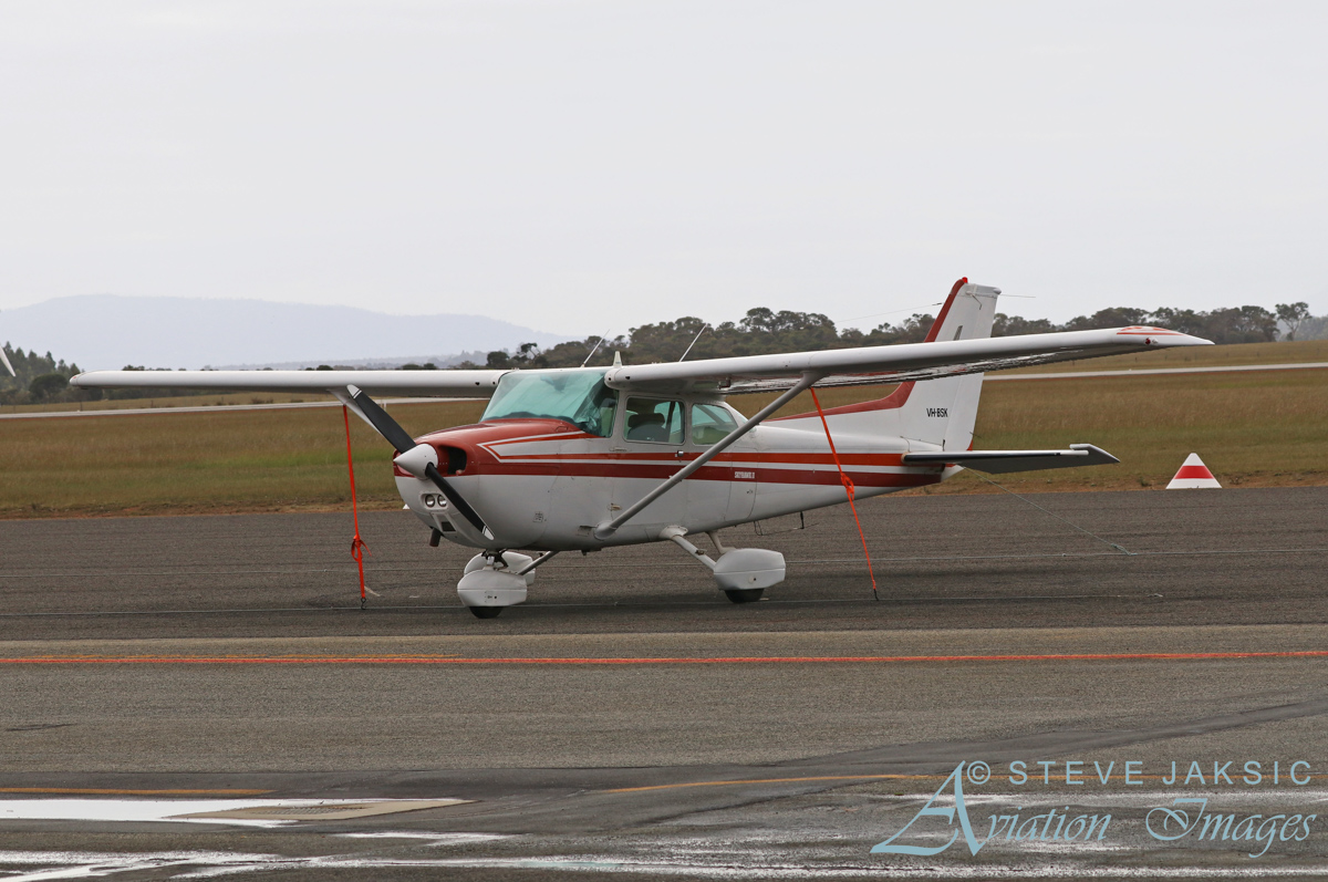VH-BSK Cessna 172P Skyhawk II (MSN 17274271) owned by Kingley I Barrett-Lennard, at Albany Airport - Sat 13 August 2016. Built in 1981, ex N51158. Photo © Steve Jaksic