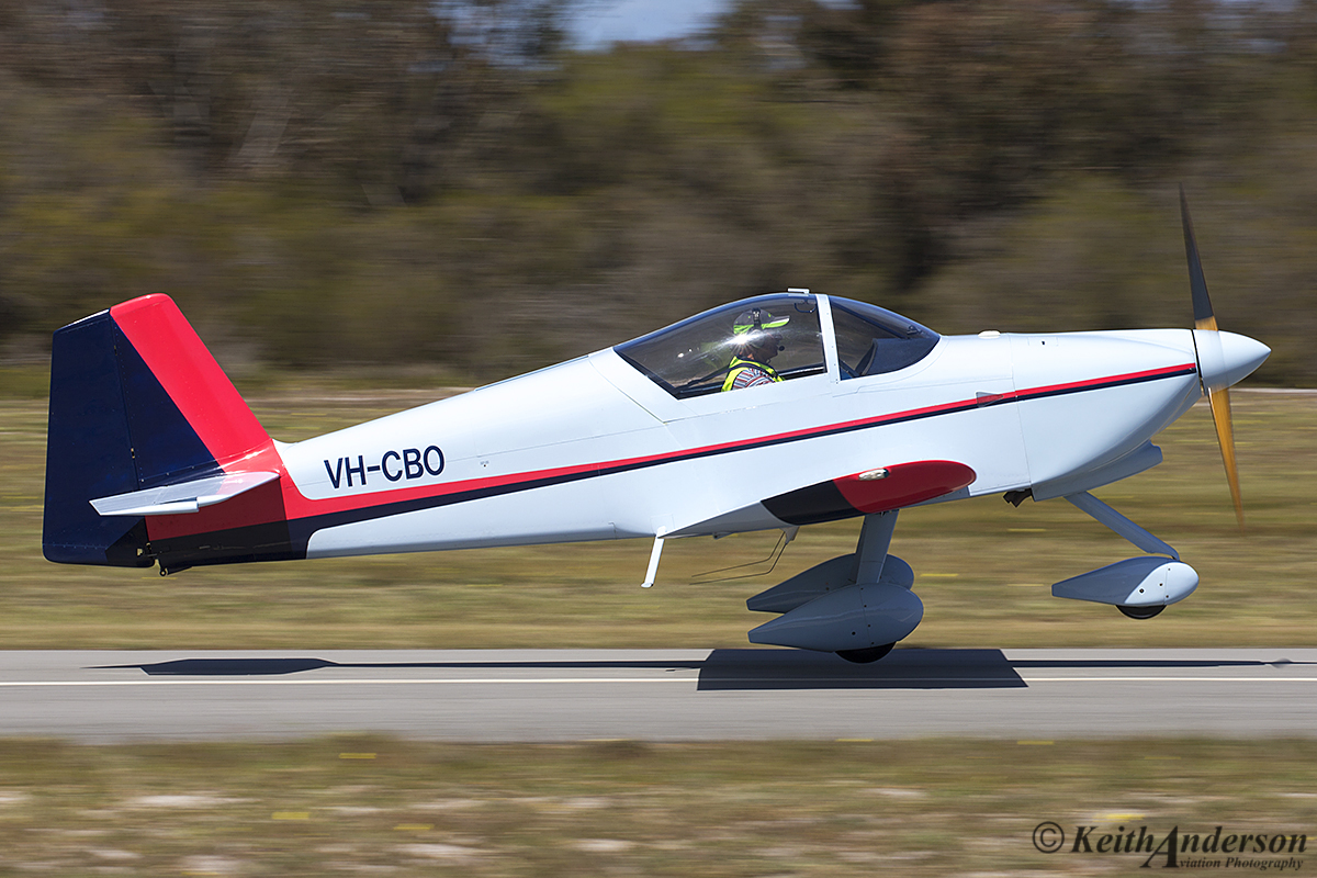 VH-CBO Vans RV-6A (MSN W192) owned by Arthur Hannington, at SABC Annual Fly In, Serpentine Airfield – Sun 25 September 2016.