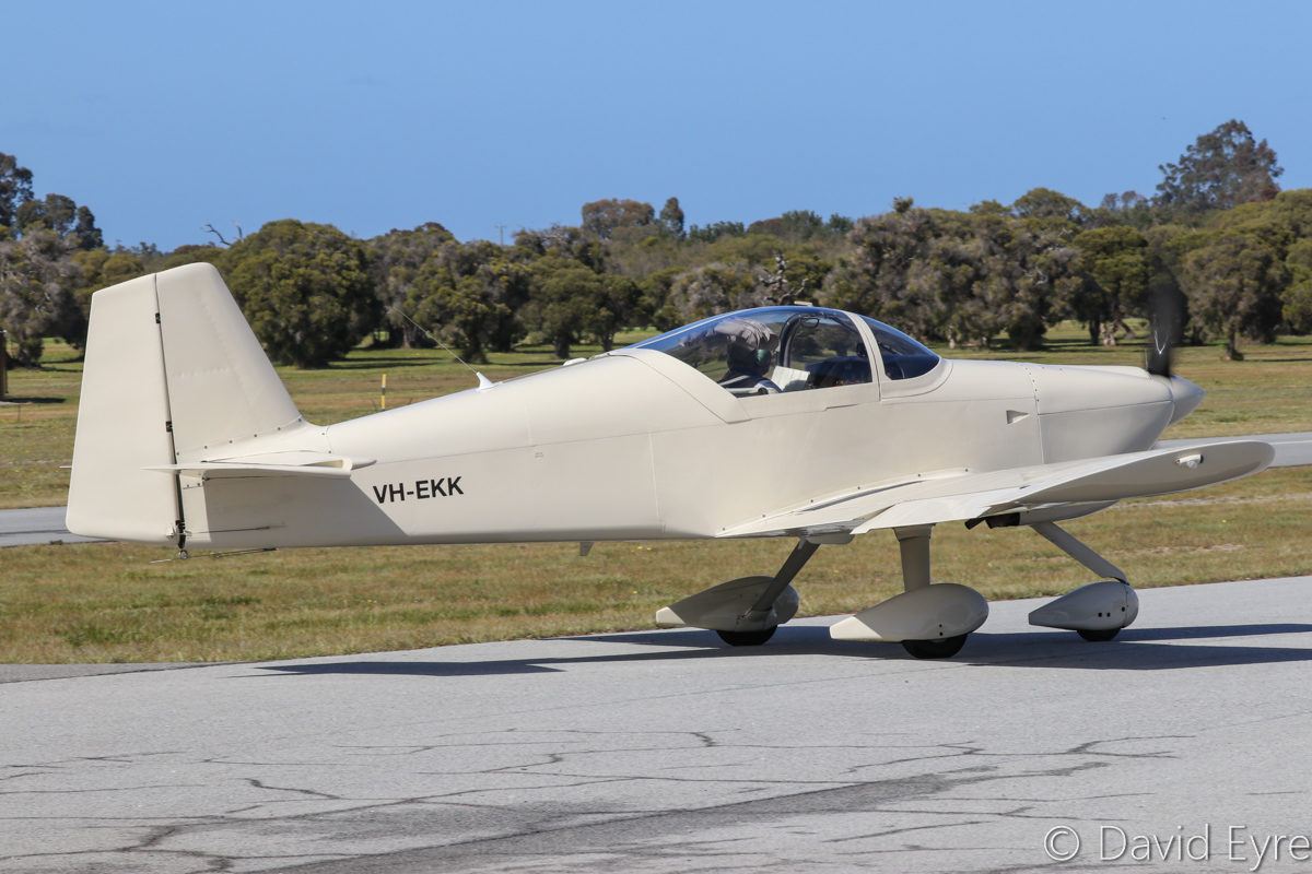 VH-EKK Vans RV-6A (MSN 23206, ex N102PC) owned by Trevor Fernihough, at SABC Annual Fly-in, Serpentine Airfield - Sun 25 September 2016. Photo © David Eyre