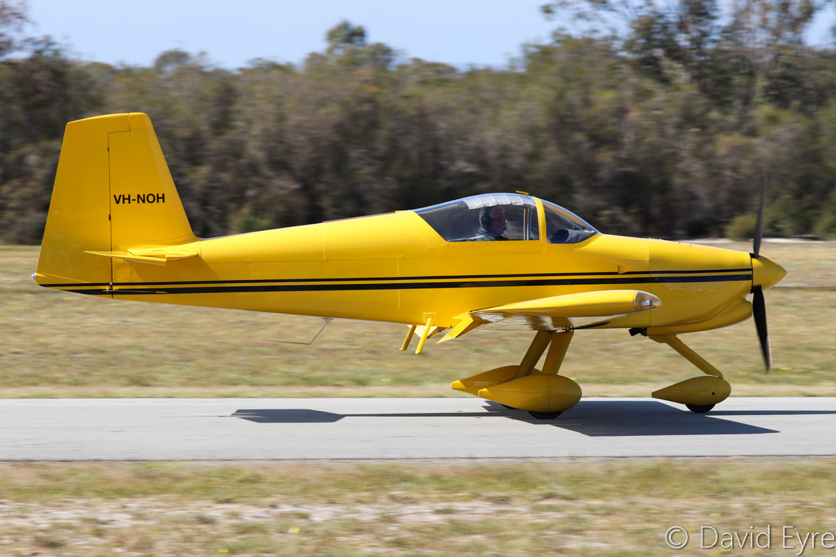 VH-NOH Vans RV-7A (MSN 73307) owned by Nils Hansen, operated by Wallis Aircraft Service Pty Ltd, of Margaret River, at SABC Annual Fly-In, Serpentine Airfield – Sun 25 September 2016. Photo © David Eyre