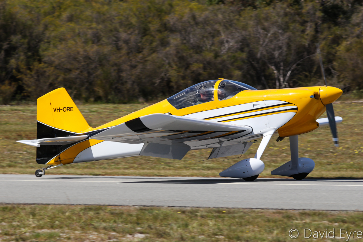 VH-ORE Vans RV-6 (MSN 24961) owned by Paul Blackney at SABC Annual Fly In, Serpentine Airfield – Sun 25 September 2016. Photo © David Eyre