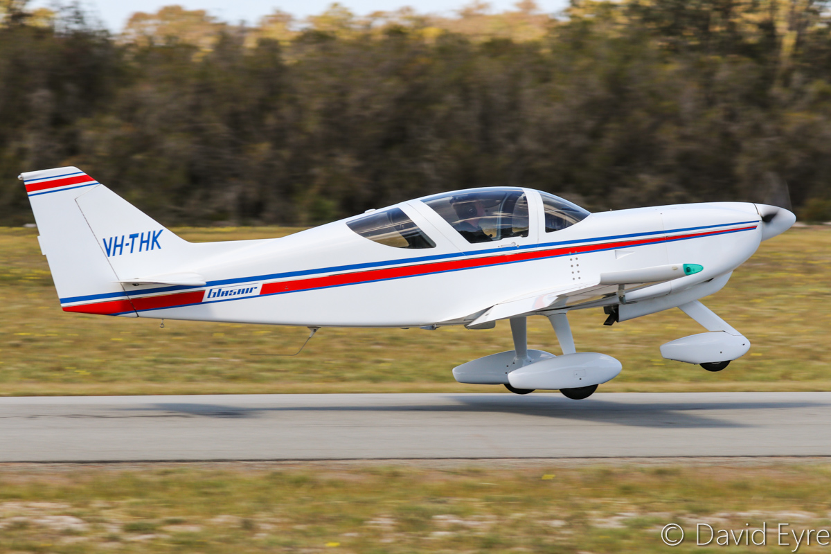 VH-THK Glasair II-S-FT (MSN N207), flown by Ralph Lerch at SABC Annual Fly-In, Serpentine Airfield – Sun 25 September 2016. Photo © David Eyre