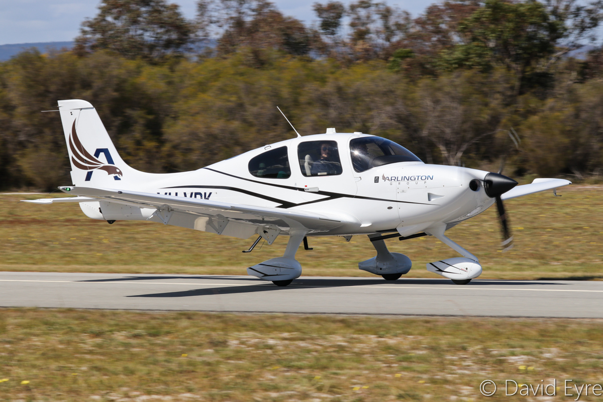 VH-VPK Cirrus SR20A-G3 (MSN 2308) owned by Arlington Group Pty Ltd, at SABC Annual Fly-In, Serpentine Airfield – Sun 25 September 2016. Built in 2016 and registered on 11 April 2016, ex N308JS. Photo © David Eyre