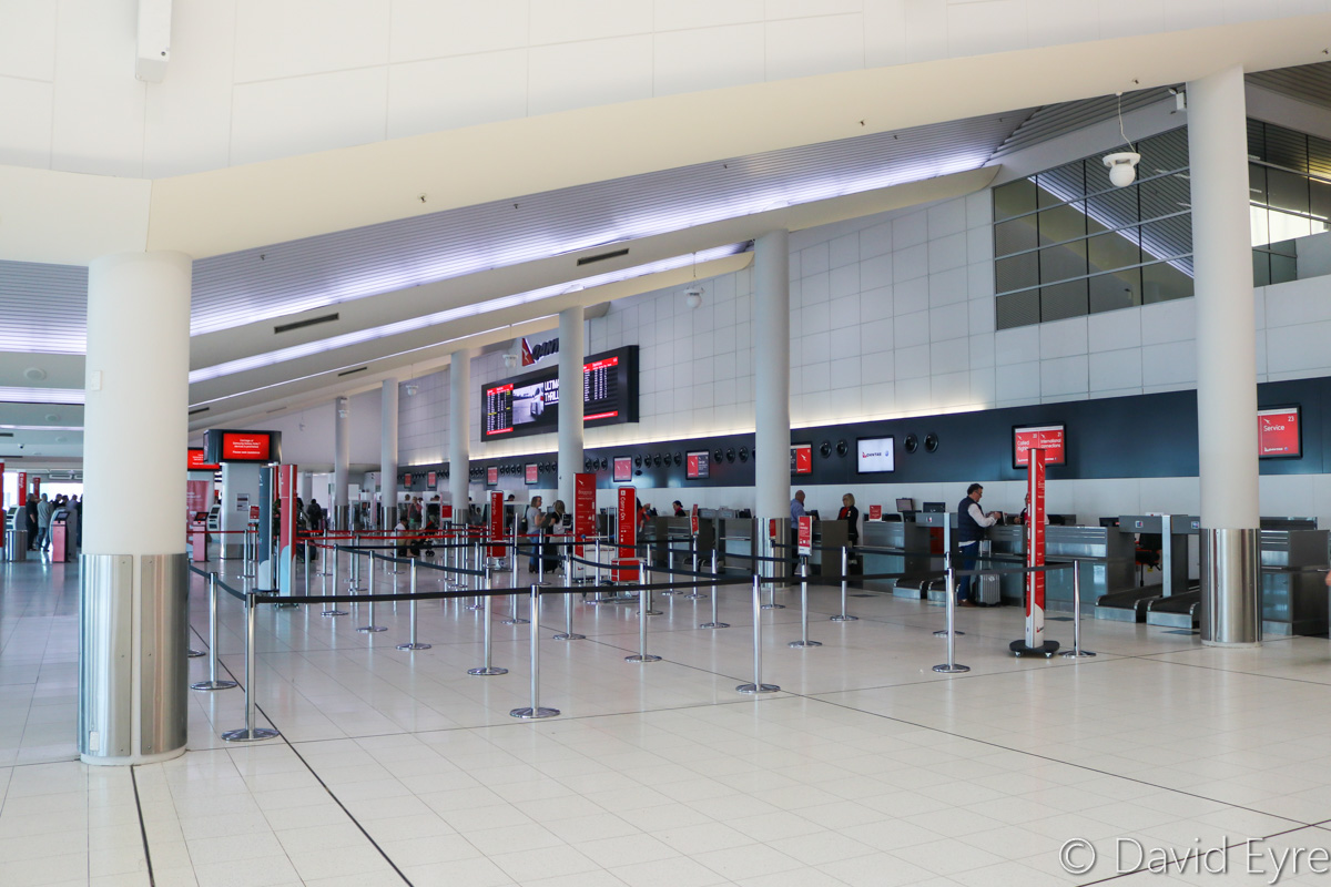 Terminal 4 Check-In Area, Perth Airport - Fri 28 October 2016. Photo © David Eyre