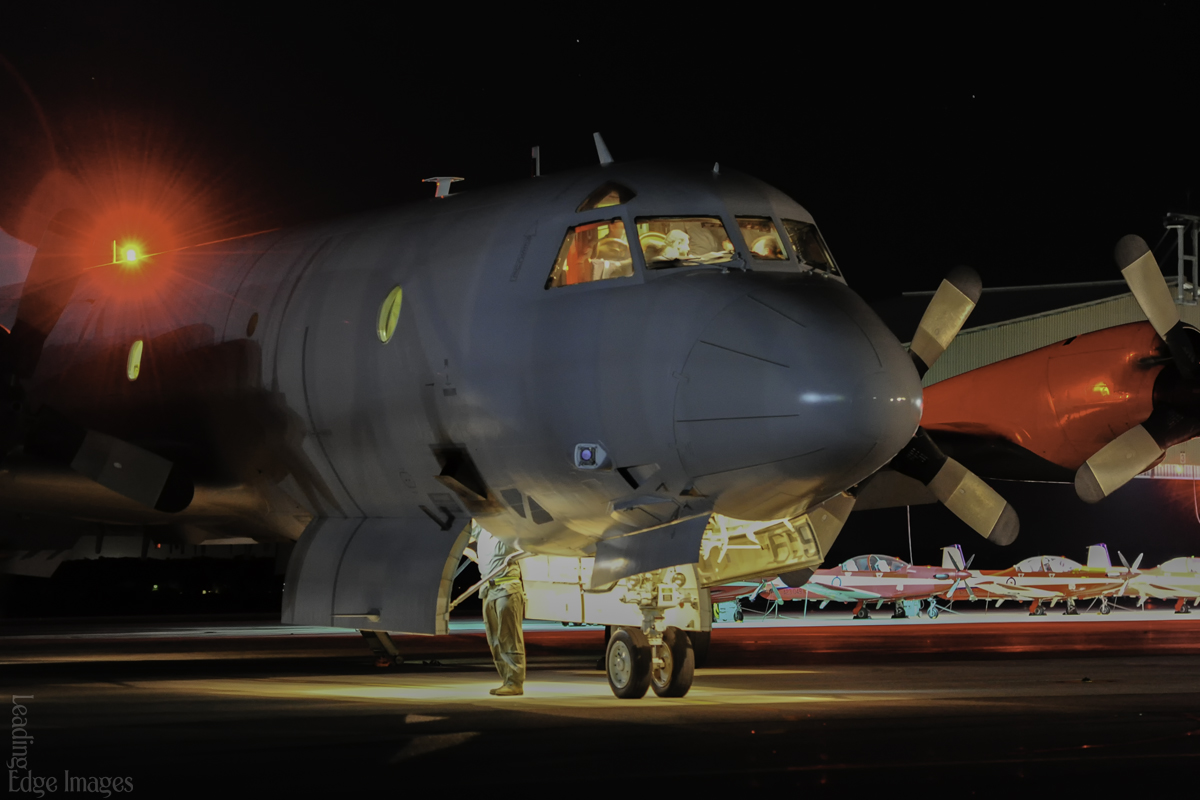 A9-659 Lockheed AP-3C Orion of Royal Australian Air Force at RAAF Base Pearce – 21 March 2014