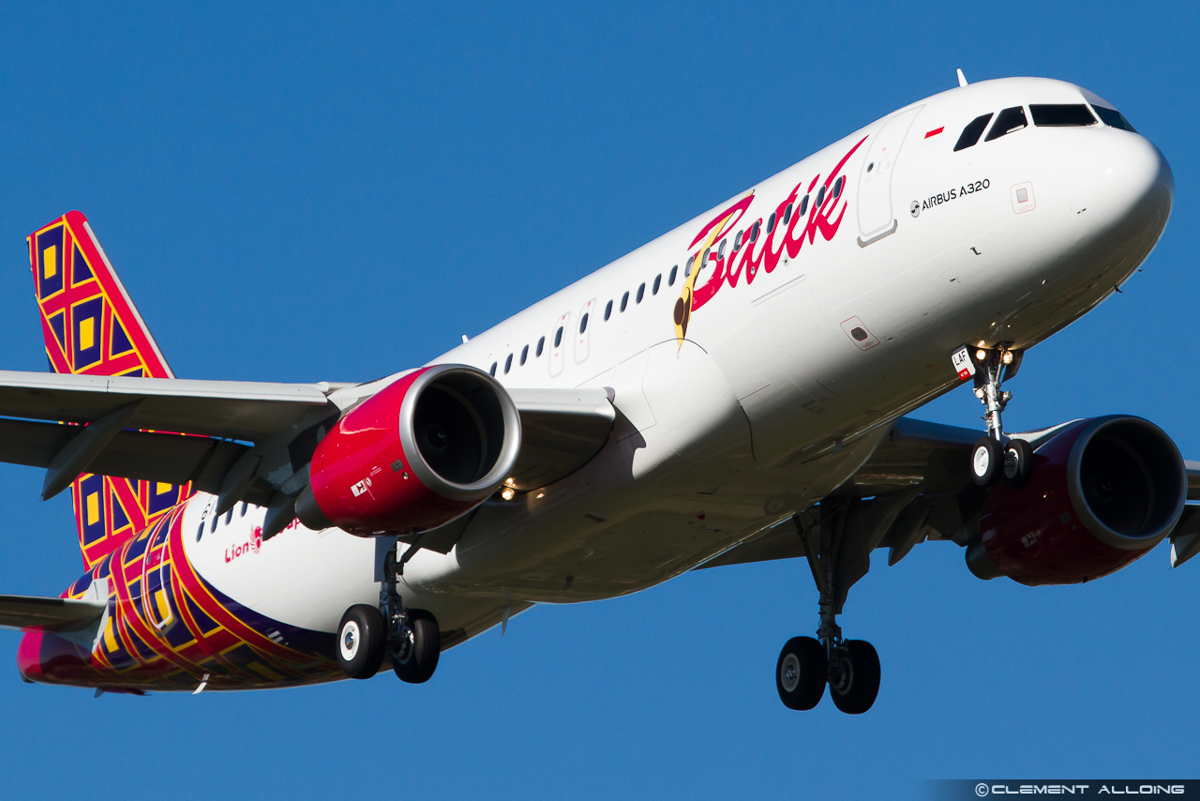 PK-LAF (F-WWBO) Airbus A320-214 (sharklets) (MSN 6164) of Batik Air Indonesia, at Toulouse, France - 17 October 2014. Photo © Clement Alloing - Flickr