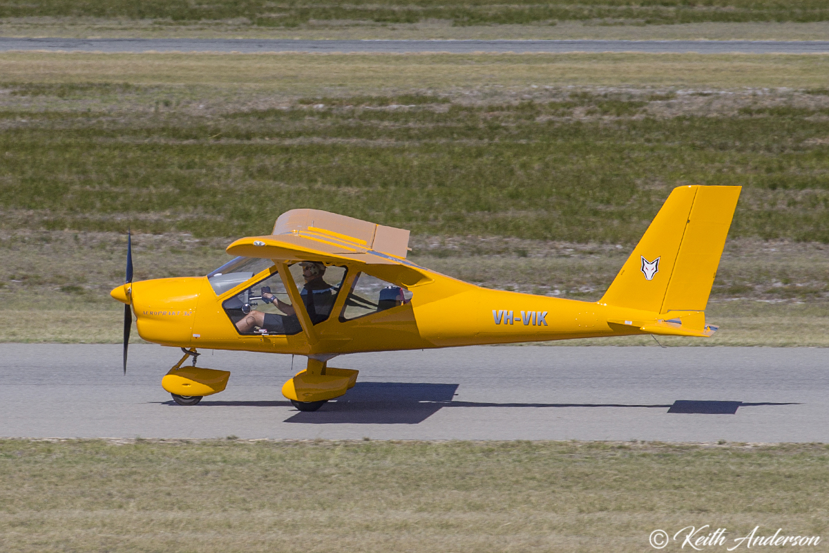 VH-VIK Aeroprakt AP32 (MSN 25) at Jandakot Airport – 2 April 2017.