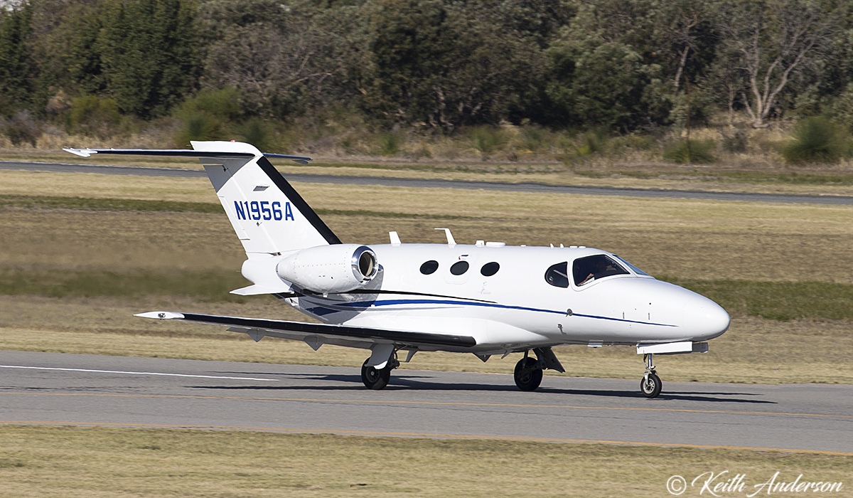 N1956A Cessna 510 Citation Mustang (MSN 510-0305) owned by TVPX ARC LLC Trustee, North Salt Lake, Utah, USA, at Jandakot airport – 9 April 2017.