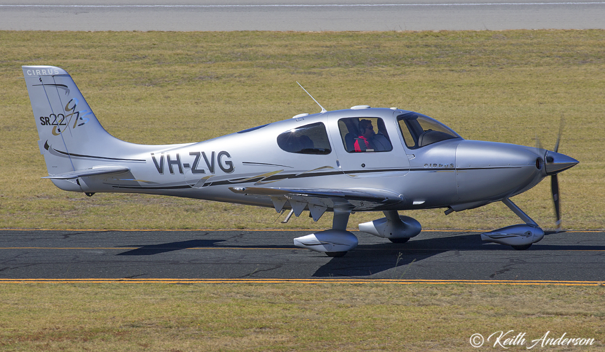 VH-ZVG Cirrus SR22-G2 GTS (MSN 2280) owned by Cardinal Technologies (Australia) Pty Ltd, at Jandakot Airport – 9 April 2017.