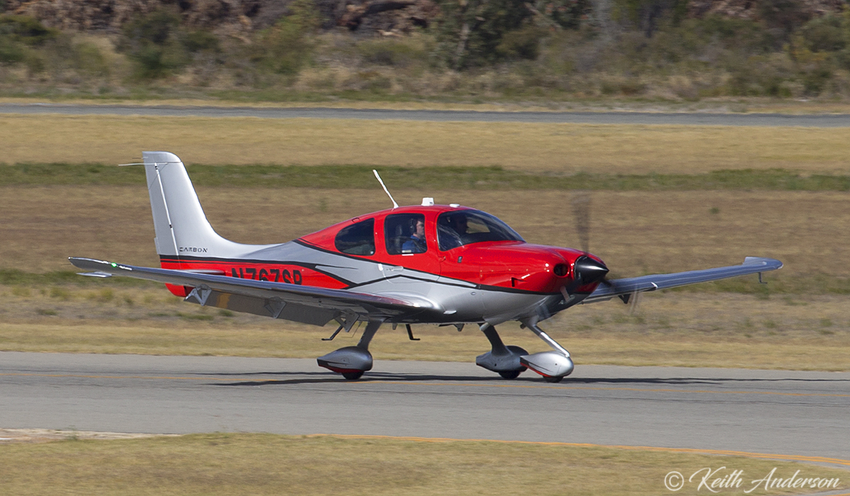 N767SR 2017 G6 Cirrus SR-22 Australis Premium (MSN 4435) of Avcorp at Jandakot Airport – 30 April 2017.