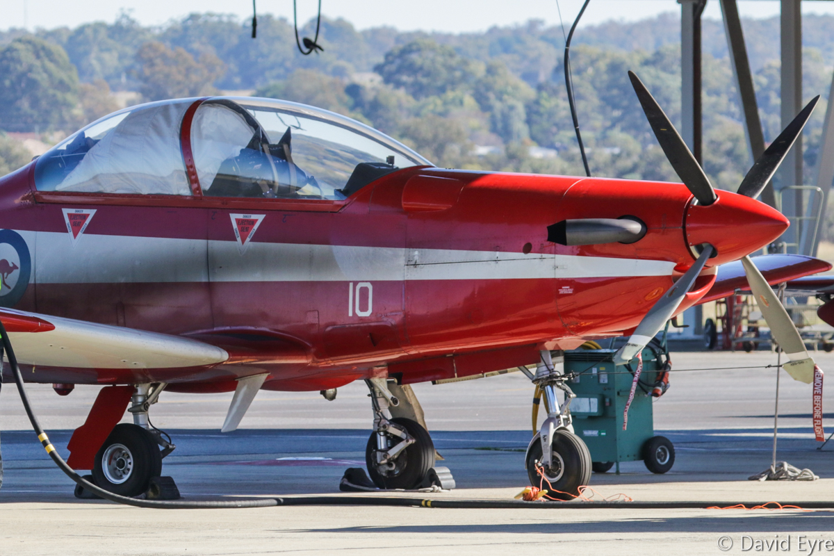 A23-010 Pilatus PC-9/A (MSN 510) of 2 Flying Training School (2 FTS), RAAF, at RAAF Pearce - Fri 9 June 2017. Photo © David Eyre