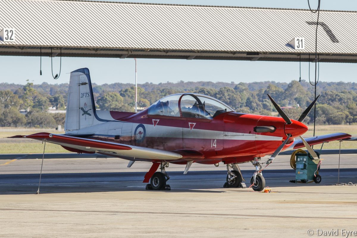 A23-014 Pilatus PC-9/A (MSN 514) of 2 Flying Training School (2 FTS), RAAF, at RAAF Pearce - Fri 9 June 2017. Photo © David Eyre