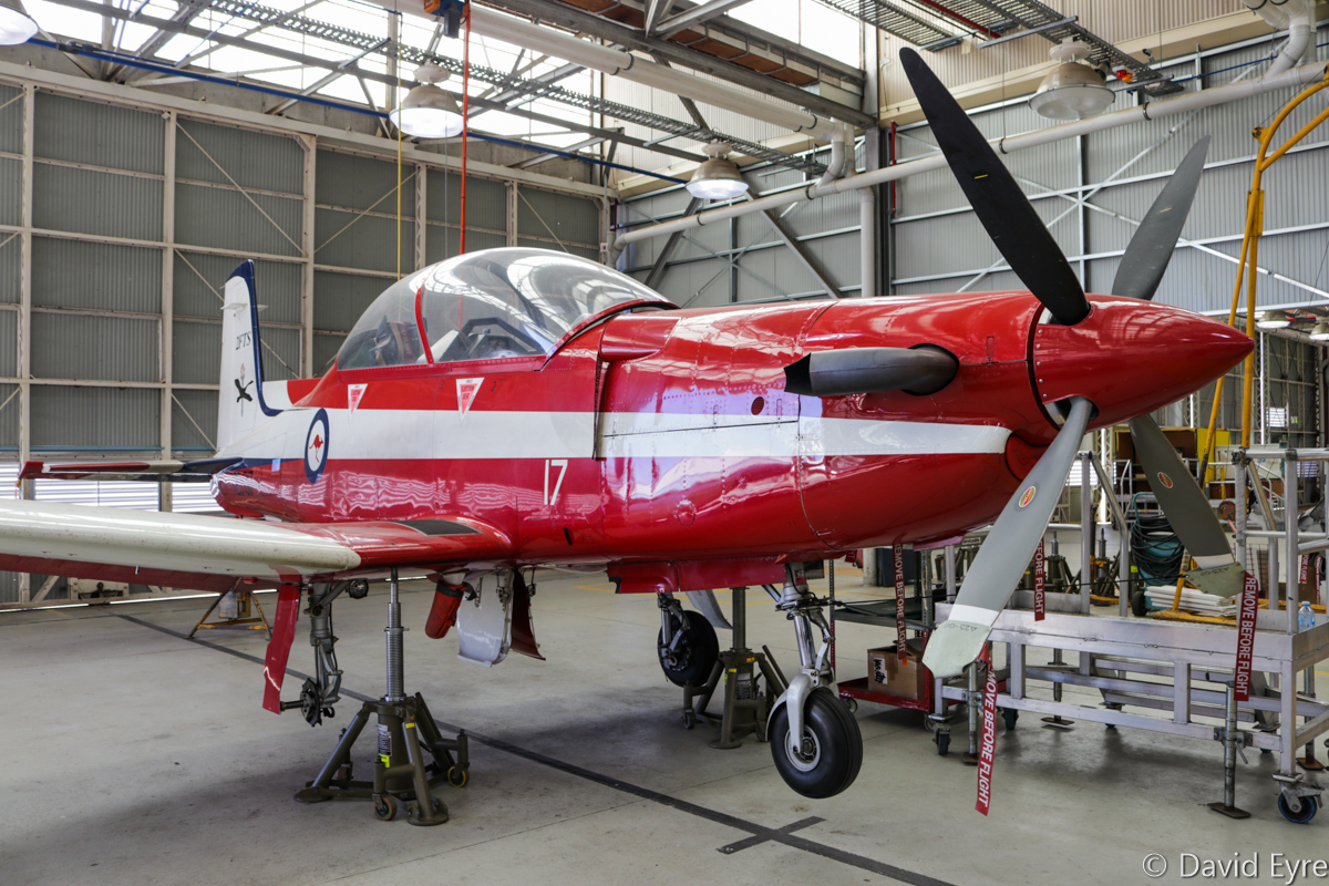 A23-017 Pilatus PC-9/A (MSN 517) of 2 Flying Training School (2 FTS), RAAF, at RAAF Pearce - Fri 9 June 2017. Photo © David Eyre