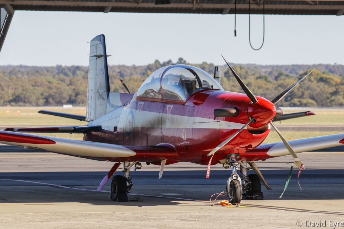 A23-041 Pilatus PC-9/A (MSN 541) of 2 Flying Training School (2 FTS), RAAF, at RAAF Pearce - Fri 9 June 2017. Photo © David Eyre