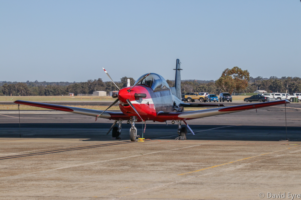 A23-047 Pilatus PC-9/A (MSN 547) of 2 Flying Training School (2 FTS), RAAF, at RAAF Pearce - Fri 9 June 2017. Photo © David Eyre