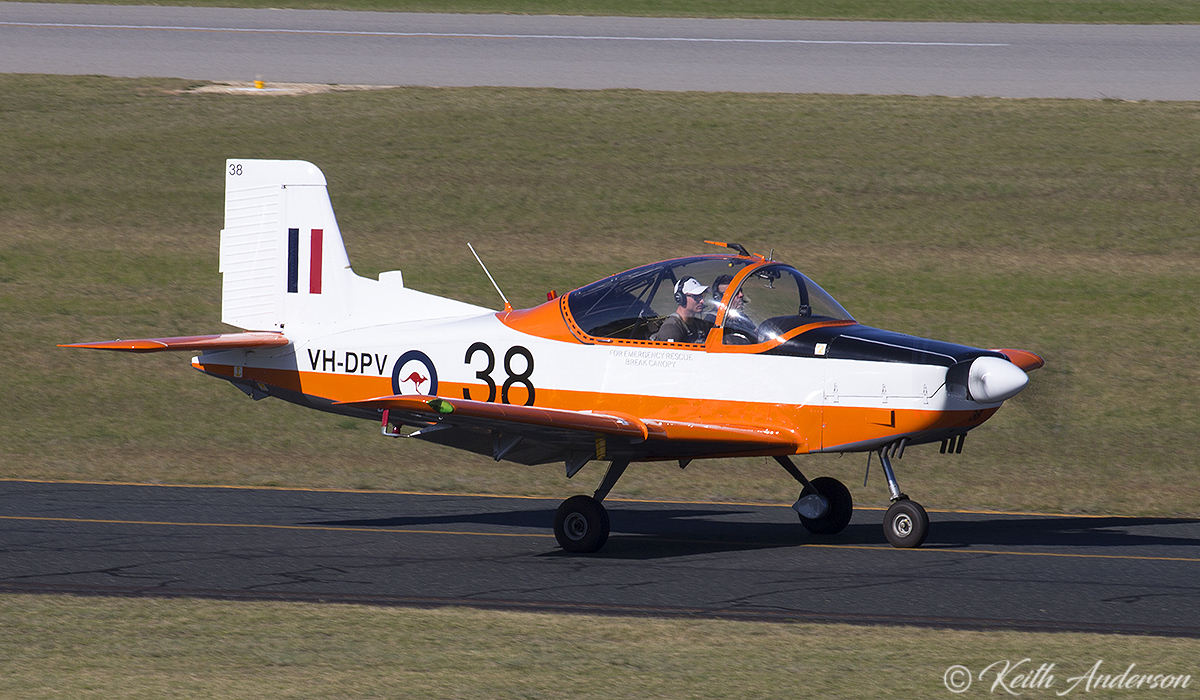 VH-DPV / 038 NZAI CT/4A Airtrainer (cn 038) owned by Brian Collingridge at Jandakot Airport – 17 June 2017.