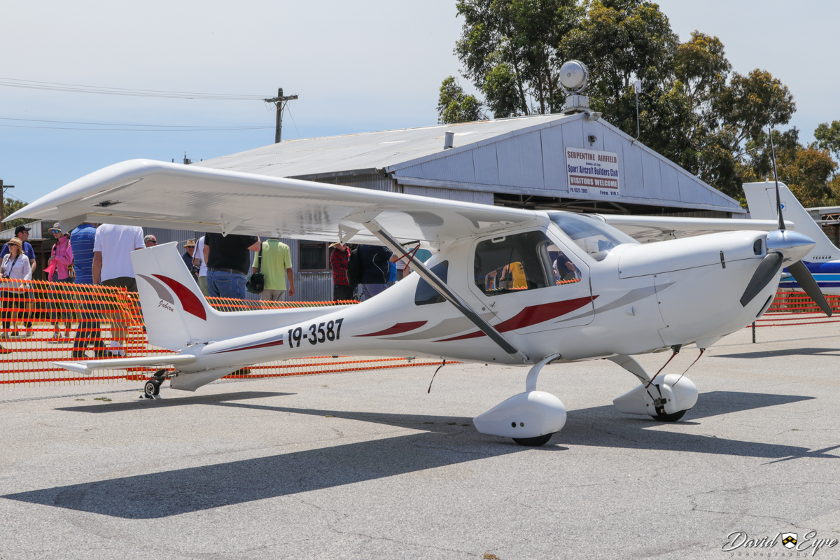 19-3587 Jabiru SP Tail Dragger (MSN 469), at the Sport Aircraft Builders Club (SABC) Annual Fly-In, Serpentine Airfield - 5 November 2017. Photo © David Eyre