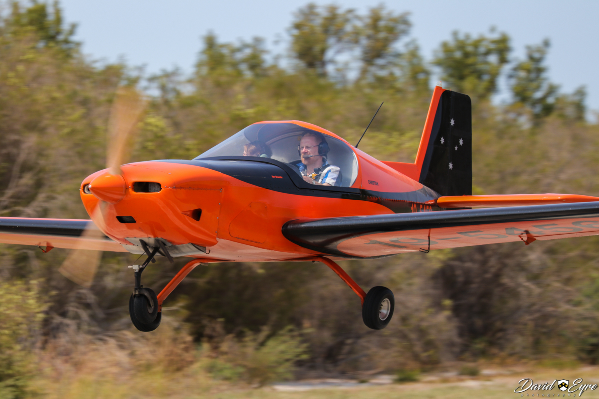19-5456 Morgan Aeroworks Cheetah Mk.2 (MSN 6) owned by Ken Chandler & Mike Richardson at the Sport Aircraft Builders Club (SABC) Annual Fly-In, Serpentine Airfield - 5 November 2017. Photo © David Eyre. The Morgan Aeroworks Cheetah is an Australian-designed and built kitplane. 19-5456 was built by Ken Chandler and Mike Richardson, making its first flight on 13 Sept 2008 with designer Garry Morgan at the controls.