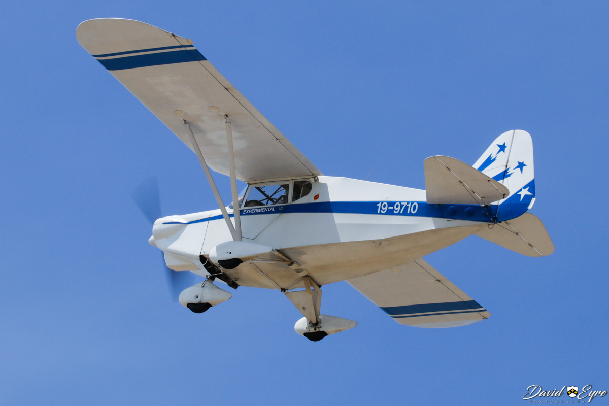 19-9710 Stits SA-7D Skycoupe (MSN W10) owned by David Woodward, at Sport Aircraft Builders Club (SABC) Annual Fly-In, Serpentine Airfield - 5 November 2017. Photo © David Eyre. Built in 1992, ex VH-ACH.
