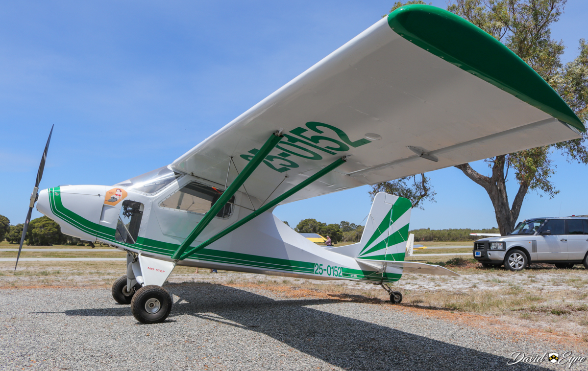25-0152 Australian LightWing GR-532 (MSN 015) at Sport Aircraft Builders Club (SABC) Annual Fly-In, Serpentine Airfield - 5 November 2017. Photo © David Eyre Built in 1987, first registered 4 Dec 1987, deregistered in 1996 but restored in 2006.