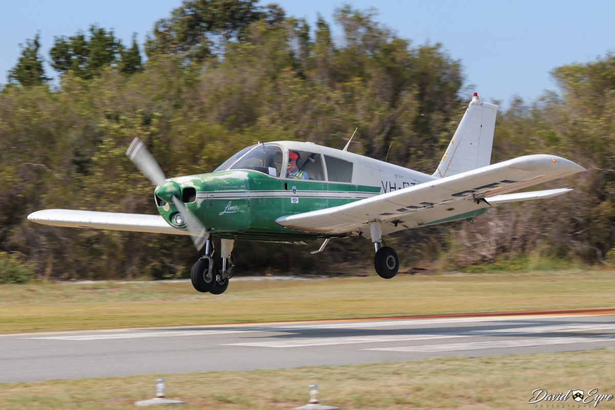 VH-CTL Piper PA-28-140 Cherokee 140 (MSN 28-23910) owned by Norman Gilchrist, at the Sport Aircraft Builders Club (SABC) Annual Fly-In, Serpentine Airfield - 5 November 2017. Built in 1970. Photo © David Eyre