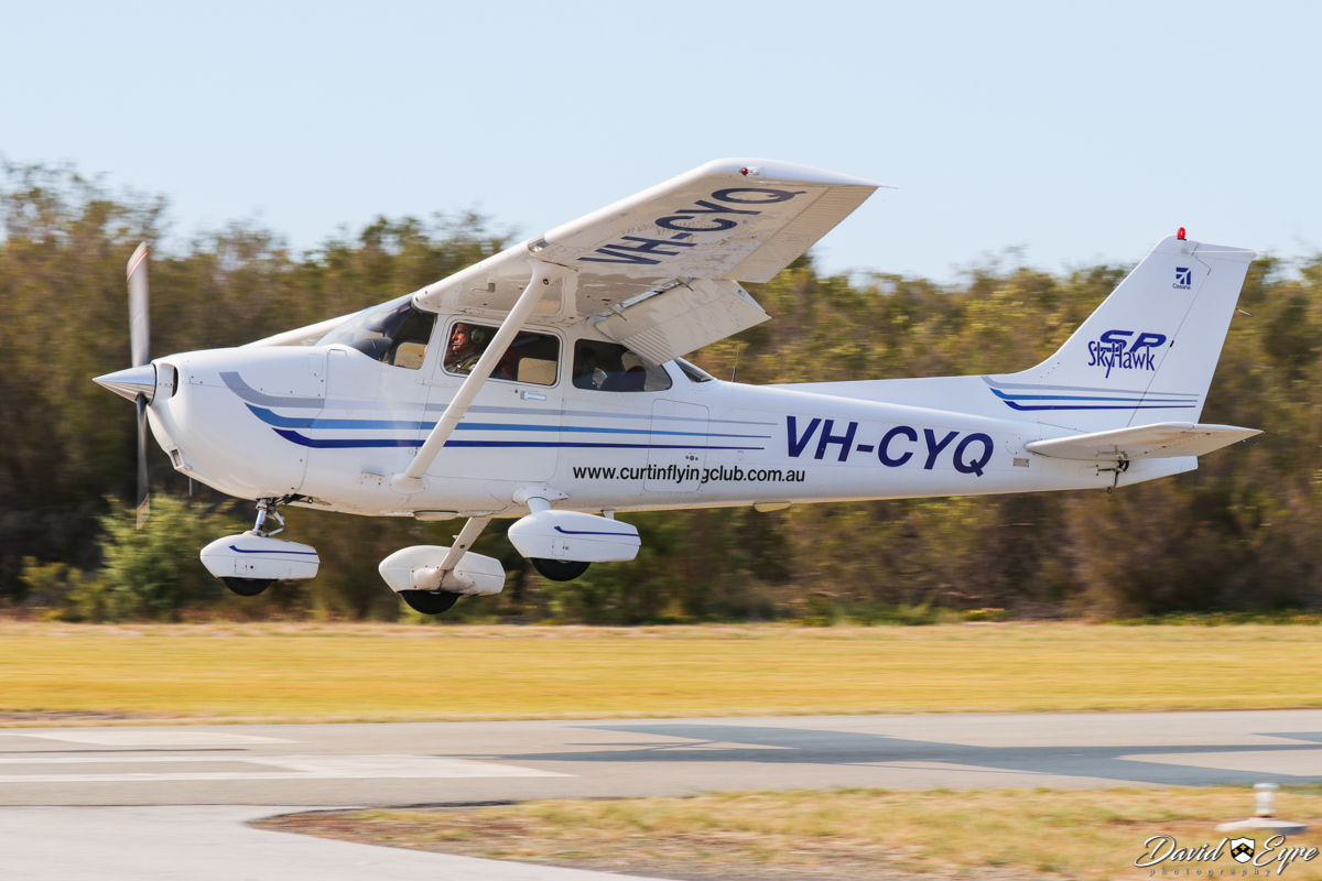 VH-CYQ Cessna 172S Skyhawk SP (MSN 172S9313) of Curtin Flying Club Inc, at the Sport Aircraft Builders Club (SABC) Annual Fly-In, Serpentine Airfield - 5 November 2017. Photo © David Eyre. Built in 2003, ex N5323K.