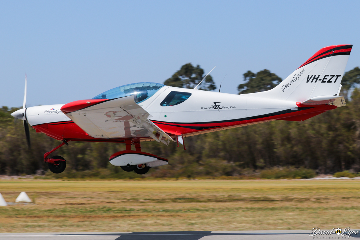 VH-EZT Czech Sport Aircraft PiperSport (MSN P1001085) of University Flying Club (Inc), at Sport Aircraft Builders Club (SABC) Annual Fly-In, Serpentine Airfield - 5 November 2017. Photo © David Eyre.