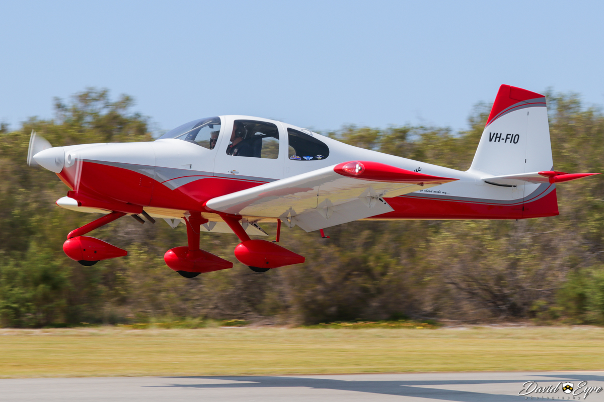 VH-FIO Vans RV-10 (MSN 40389) owned by Gregory McFarlane, of Albany, WA, at the Sport Aircraft Builders Club (SABC) Annual Fly-In, Serpentine Airfield - 5 November 2017. Photo © David Eyre.