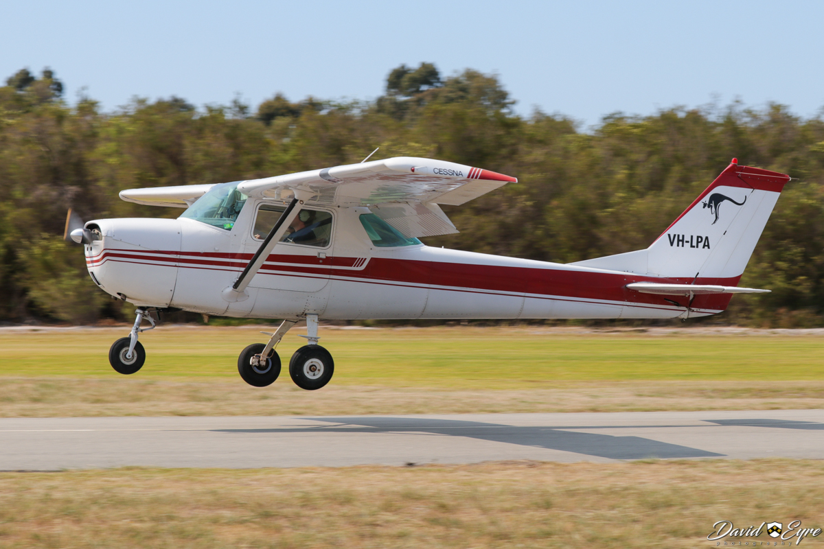 VH-LPA Cessna 150H (MSN 15067396) owned by Thomas Emmans, at the Sport Aircraft Builders Club (SABC) Annual Fly-In, Serpentine Airfield - 5 November 2017. Photo © David Eyre. Built in 1967, ex N6596S.