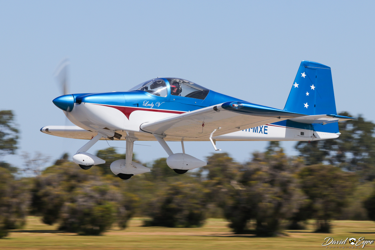 VH-MXE Vans RV-7A (MSN 72100) named 'Lady V', owned by Malcolm Vivian, at Sport Aircraft Builders Club (SABC) Annual Fly-In, Serpentine Airfield - 5 November 2017. Photo © David Eyre