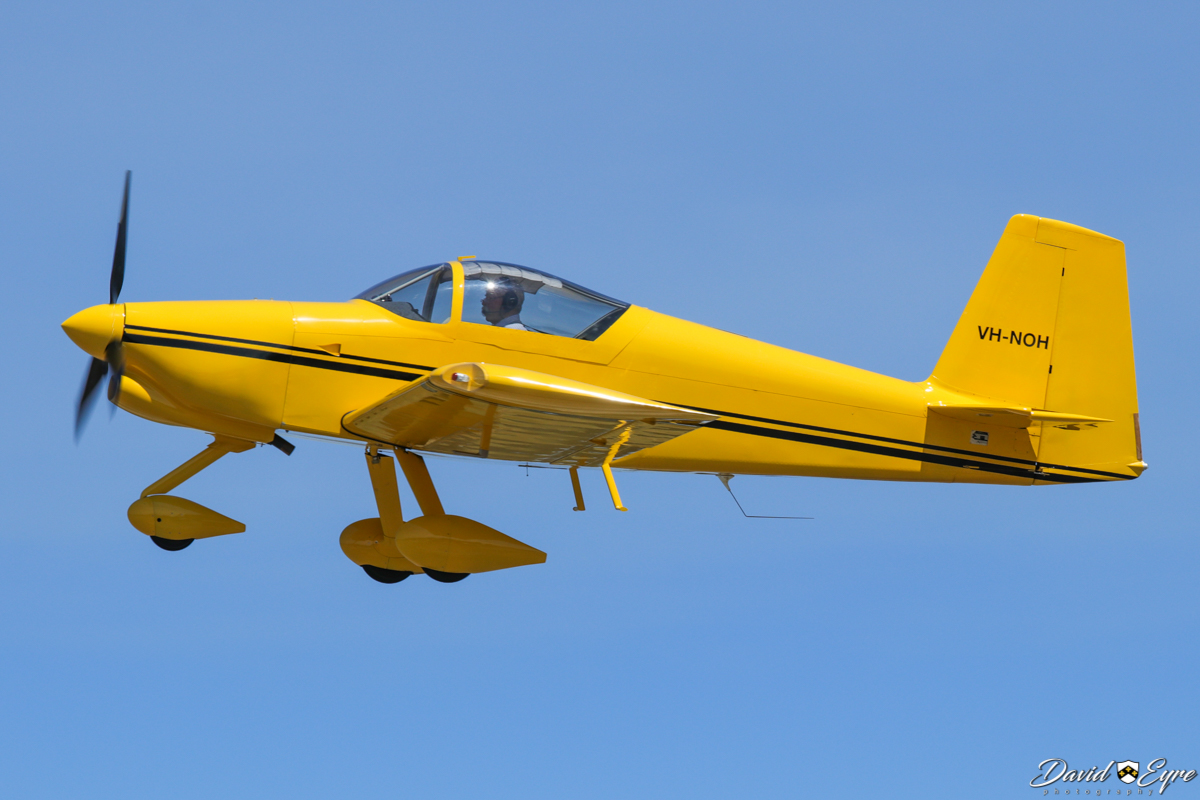VH-NOH Vans RV-7A (MSN 73307) owned by Nils Hansen, operated by Wallis Aircraft Service Pty Ltd, of Margaret River, WA, at the Sport Aircraft Builders Club (SABC) Annual Fly-In, Serpentine Airfield - 5 November 2017. Photo © David Eyre.