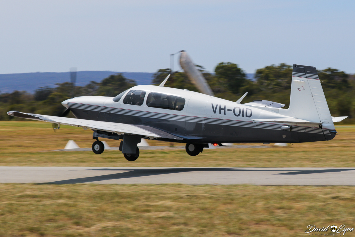 VH-OID Mooney M20R Ovation (MSN 29-0162, ex N84TF) owned by Wrightway Road Training Pty Ltd at the Sport Aircraft Builders Club (SABC) Annual Fly-In, Serpentine Airfield - 5 November 2017. Photo © David Eyre.