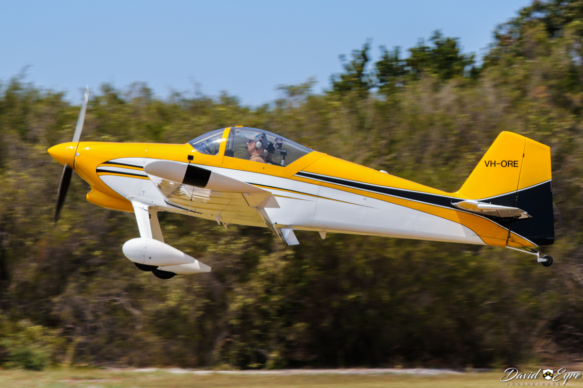 VH-ORE Vans RV-6 (MSN 24961) owned by Paul Blackney, at the Sport Aircraft Builders Club (SABC) Annual Fly-In, Serpentine Airfield - 5 November 2017. Photo © David Eyre.
