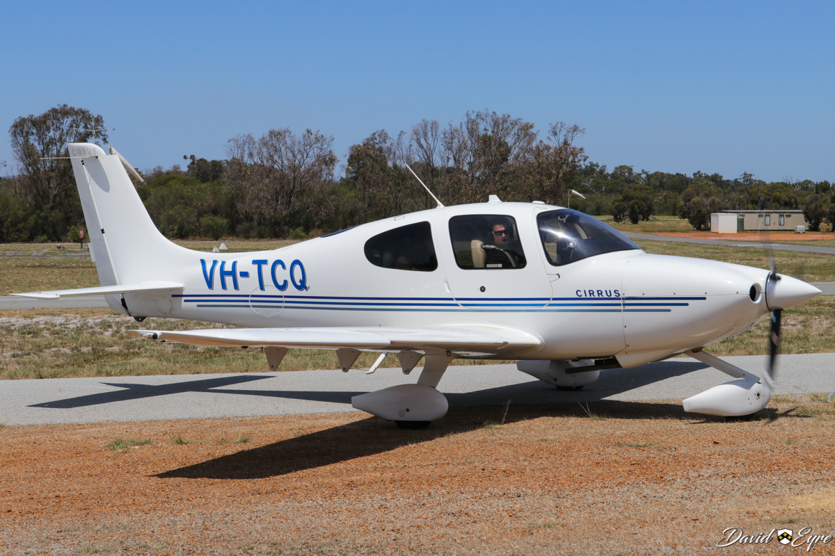VH-TCQ Cirrus SR20A-G2 (MSN 1834) owned by Jetfield Nominees Pty Ltd/Thunderbird Aviation Academy, at the Sport Aircraft Builders Club (SABC) Annual Fly-In, Serpentine Airfield - 5 November 2017. Photo © David Eyre.