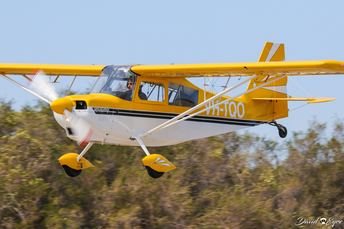 VH-TQO American Champion 8KCAB Decathlon (MSN 928-2003) operated by Royal Aero Club of Western Australia Inc, at the Sport Aircraft Builders Club (SABC) Annual Fly-In, Serpentine Airfield - 5 November 2017. Photo © David Eyre. Built in 2003, ex C-GZRR.