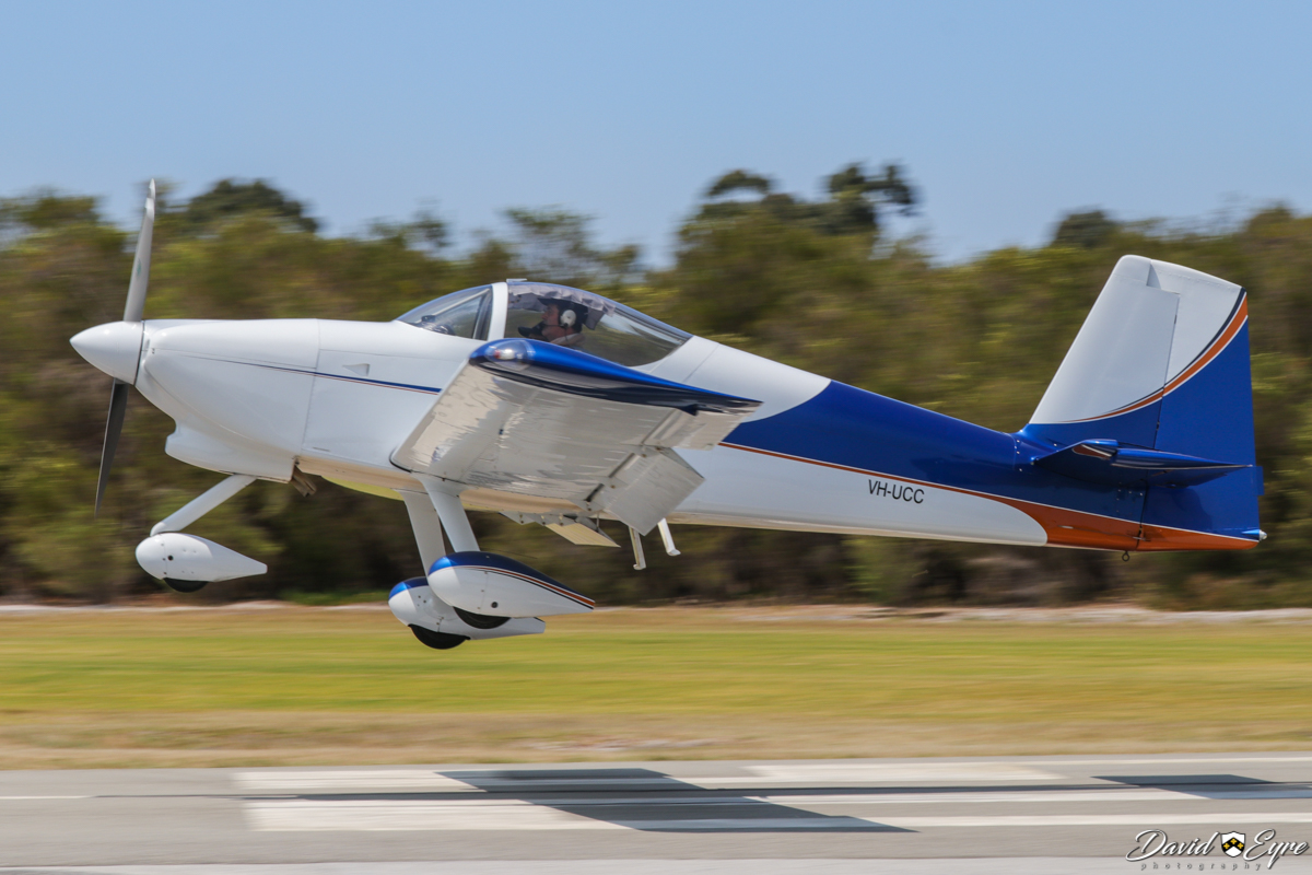 VH-UCC Vans RV-9A (MSN 91578) owned by Christoper Stevenson, at Sport Aircraft Builders Club (SABC) Annual Fly-In, Serpentine Airfield - 5 November 2017. Photo © David Eyre
