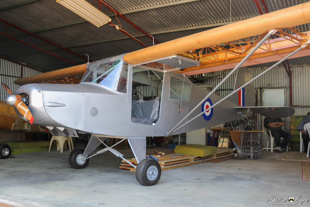 Unregistered RagWing RW11 Rag-A-Bond owned by Les Fullwood, under construction at Serpentine Airfield - 5 November 2017. Photo © David Eyre A replica of the Piper PA-15 Vagabond, the Rag-a-Bond was designed by Roger Mann and is sold as plans by RagWing Aircraft Designs.