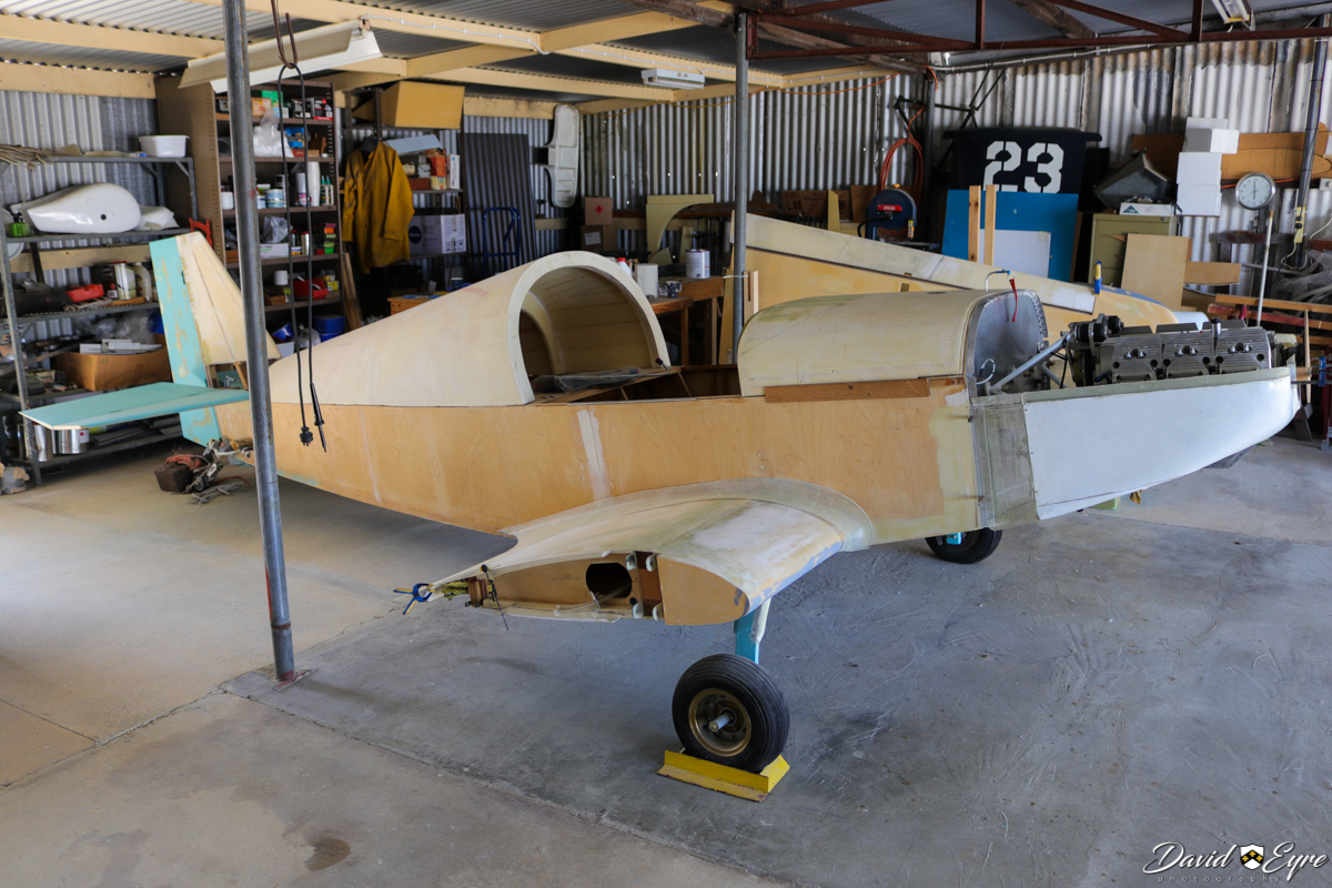 Rand KR2S under construction, owned by Allen Buzza, at the Sport Aircraft Builders Club (SABC) Annual Fly-In, Serpentine Airfield - 5 November 2017. Photo © David Eyre