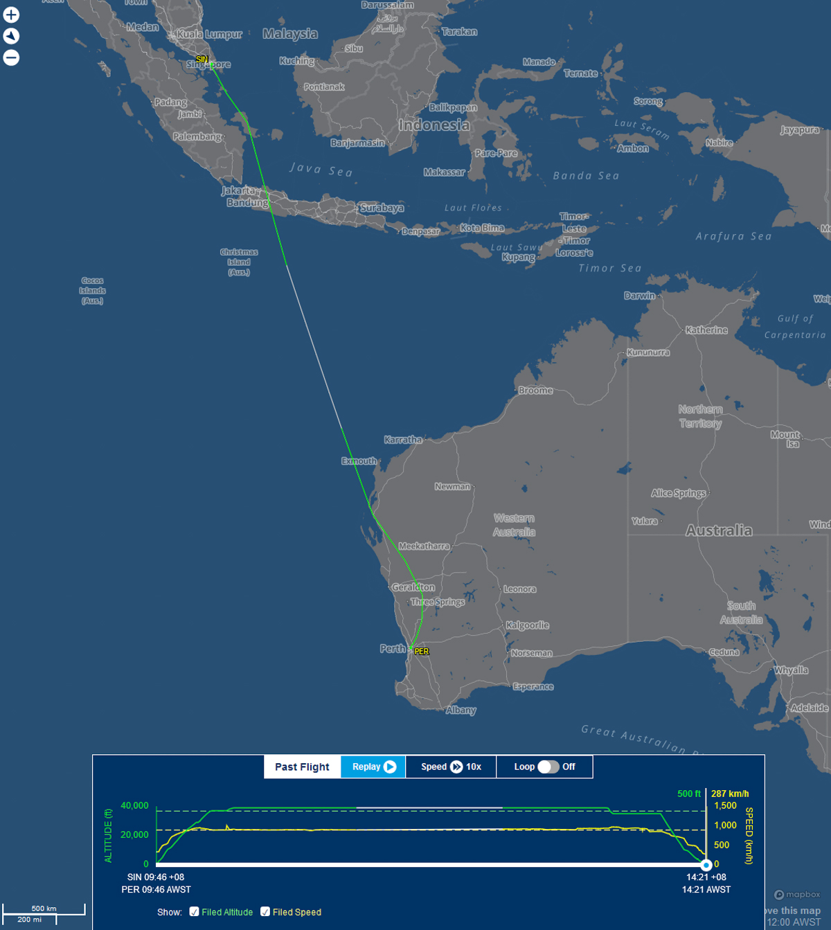 Singapore Airlines Boeing 787-10 Dreamliner visits Perth ...